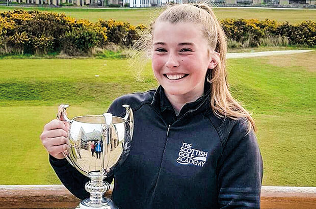 TALENTED TEEN ANNA CLAIMS FIFE COUNTY CROWN IN FINE FASHION