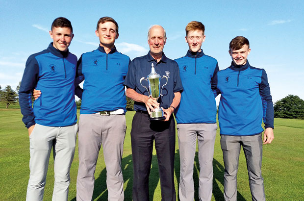 Boys' glory for Lanarkshire