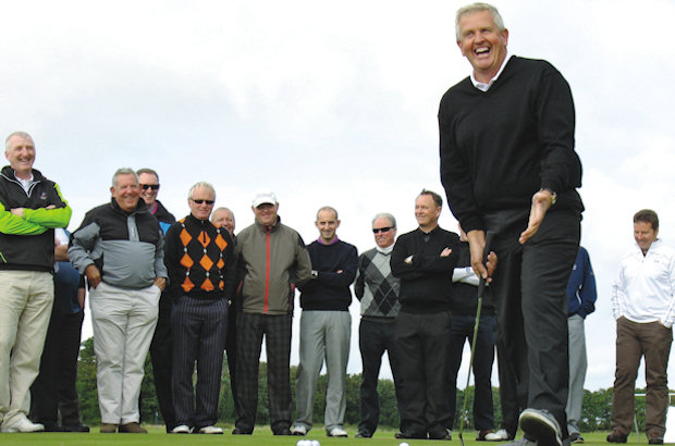 Monty delight at Kingsbarns charity day