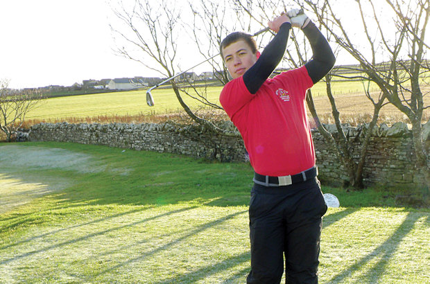 Schinkel, 15,  is first Orkney  golfer to make Golf Academy