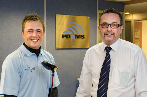 PD&MS Energy backs golfer Kris\' tour dream