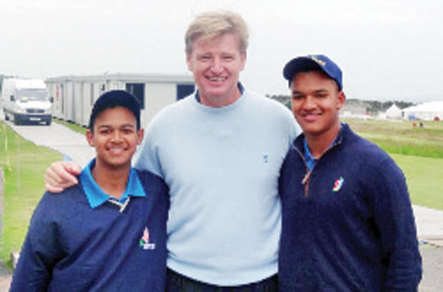 Scottish trip a whirlwind for golf duo