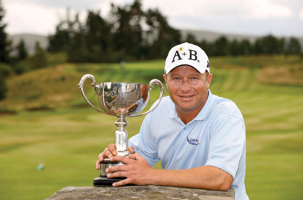 Hutcheon secures his second PGA victory