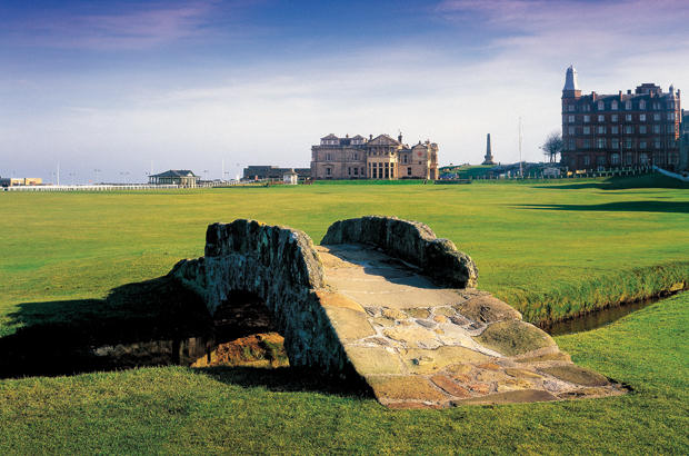The Old Course in \'poll\' position