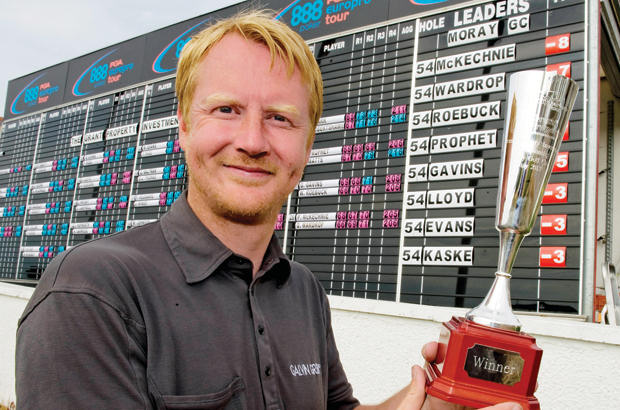 Paul McKechnie triumphs at Moray