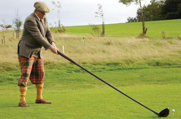 Persimmon Golf find historic club