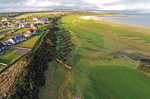 Royal Dornoch rings changes