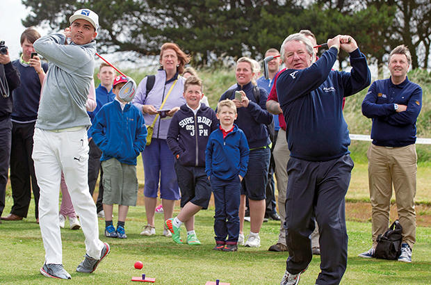 World�s top players give ClubGolf kids a special day