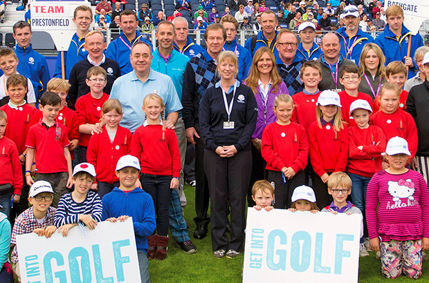 �1 million pledged to scots golf