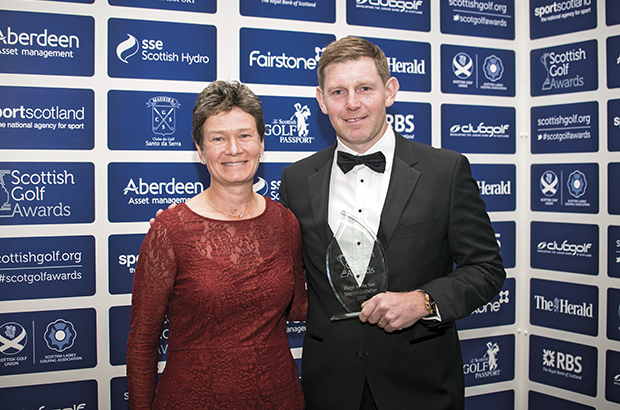 Gallacher takes top gong at awards