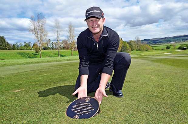 Donaldson thrilled with \'winning shot\' plaque