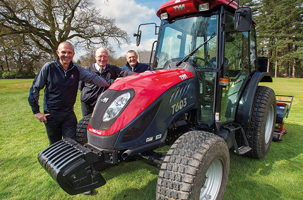 New Toro machines are a huge hit for team at Woodhall Spa