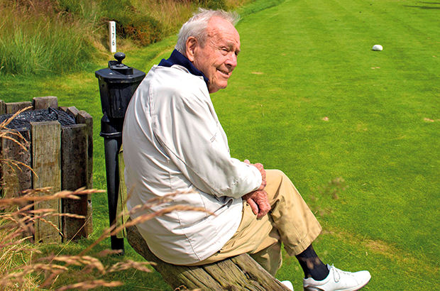 Legend Palmer \'impressed\' with location of first Scottish course