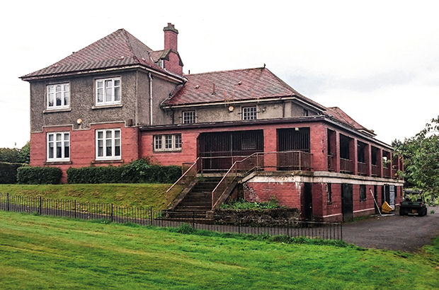 Iconic clubhouse at risk of closure