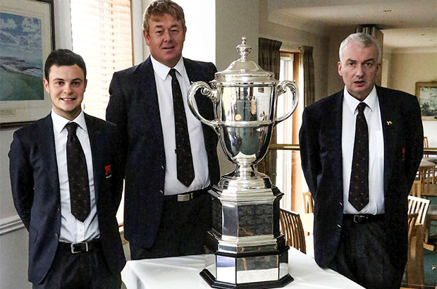 McDonald honoured as Barassie recognises Walker Cup heroes