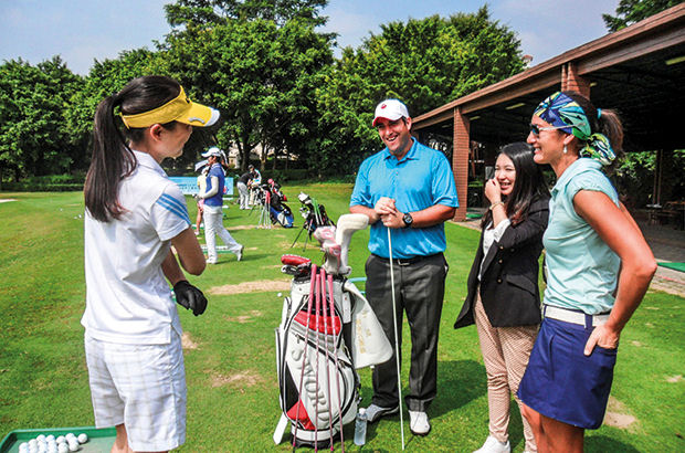 PGA pro Mark embarks on his own Far East adventure