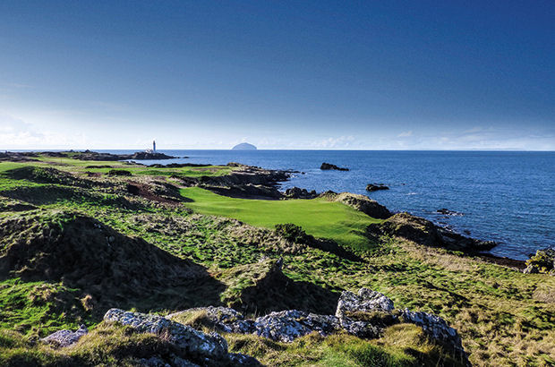Trump Turnberry teases pictures of \'re-born\' Ailsa