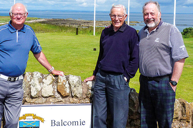 Local golfer, 87, is 'oldest' to score ace at historic Fife club