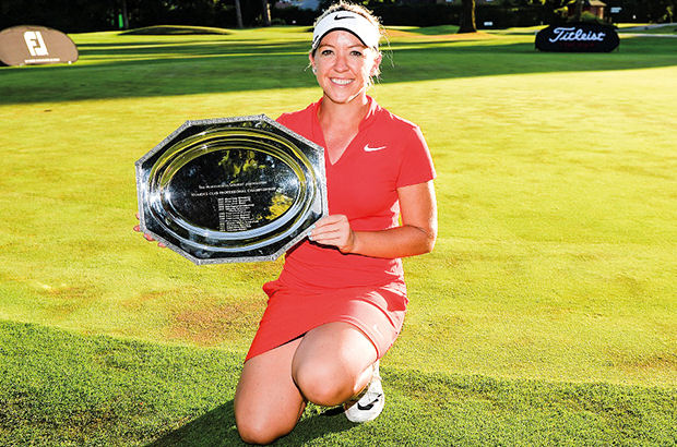 Heather happy to 'get it done'