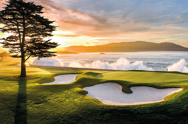 Highway to heaven... at Pebble Beach