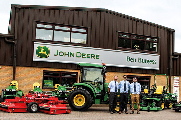 New sales area for John Deere's longest franchise