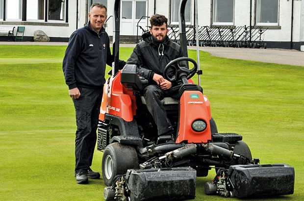 Royal Aberdeen delighted with Ransomes Jacobsen