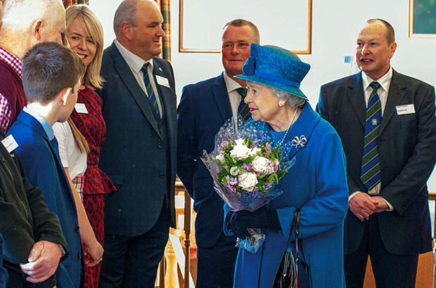 Queen Pays A Visit To 'Recovering' Ballater