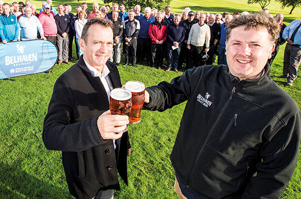 Scottish Golf toasts new Belhaven deal