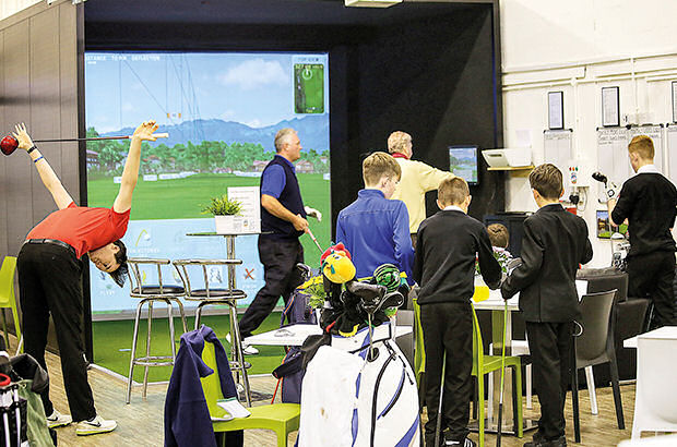 Future's bright at indoor golf facility