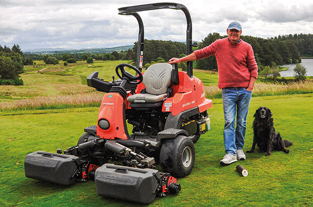 New greenkeeping equipment for Lanark