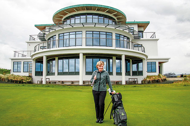 HIGHLAND LADIES OPEN ROLE FOR STEWART