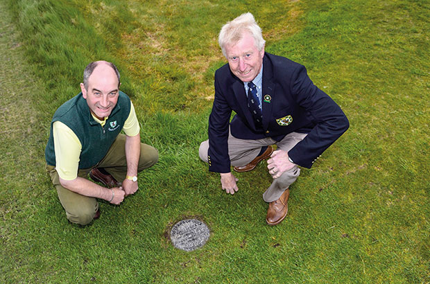 Royal Dornoch digs deep - literally - to preserve its history