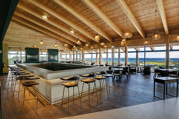 West Cliffs unveils  'green' clubhouse