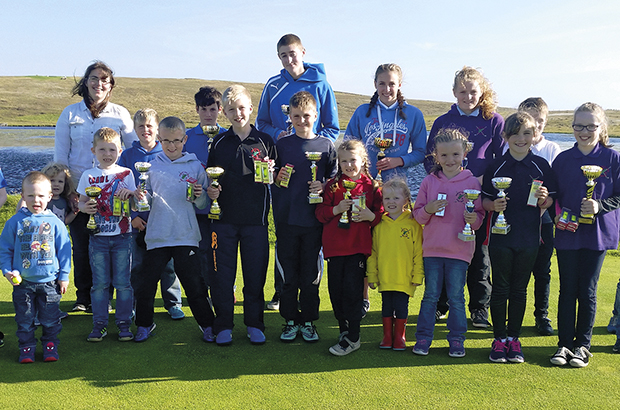 Kids golf on the up at remote clubs