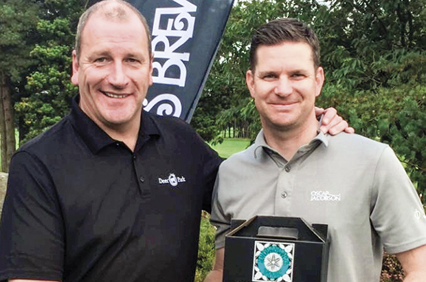 Caldwell pro sweeps to deserved  win at Deer Park order of merit event