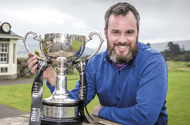 Kelly survives final round wobble to seal wire-to-wire Scottish PGA win