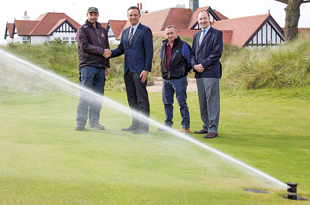 Portmarnock updates its irrigation system thanks to Toro