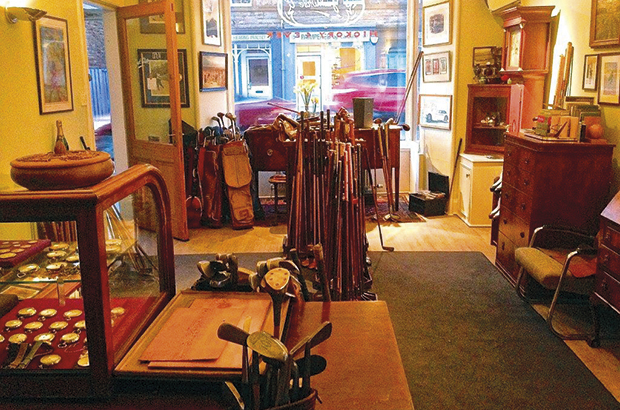 Hickory shop is step back in time