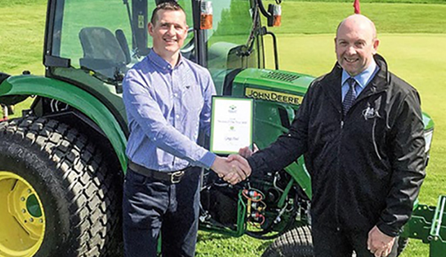 Mature student Gregg lands greenie award