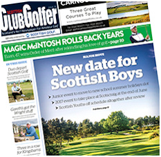 Scottish Club Golfer Cover