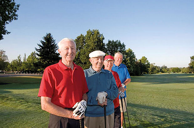 Seniors 'neglected' by golf clubs